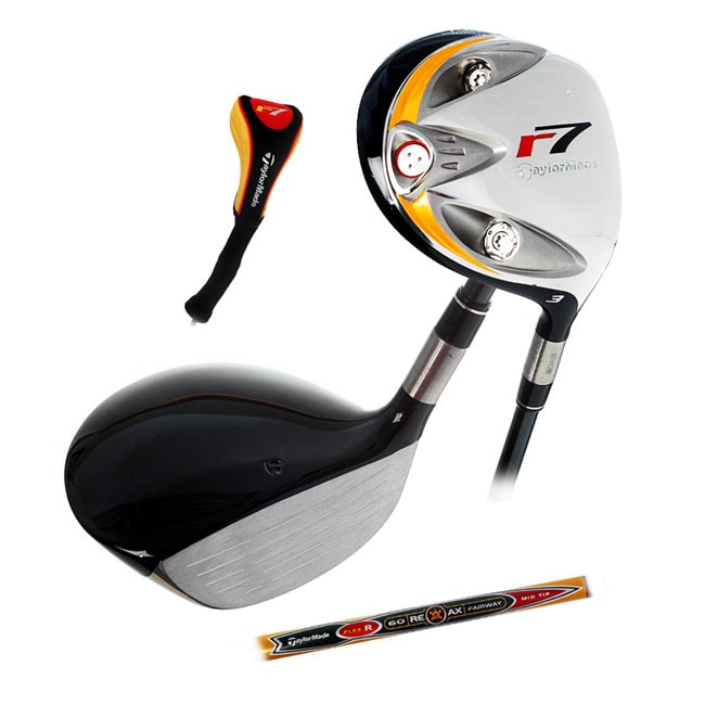 Shop Taylormade R7 Ti 3 Fairway Wood Free Shipping Today