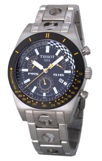 shop tissot t sport prs 516 retrograde chronograph watch. Black Bedroom Furniture Sets. Home Design Ideas