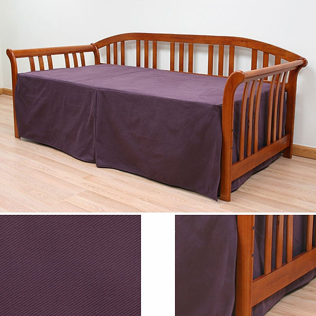 Twin Size Plum Twill Daybed Slipcover Free Shipping
