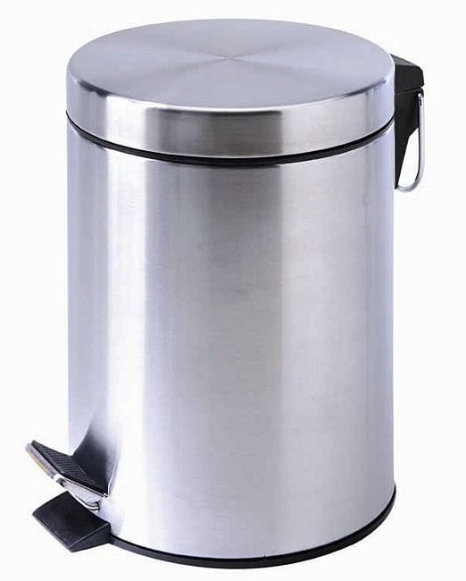 3 Gallon Stainless Steel Trash Can Free Shipping On