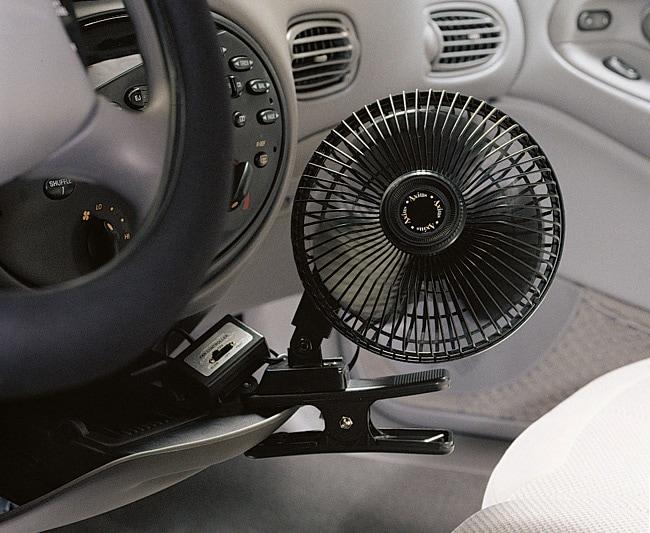 Axius 6-inch Black Clip-on Fan