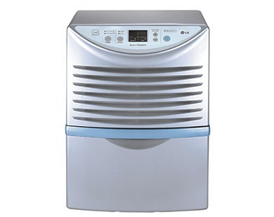 shop lg lhd45el 45 pint dehumidifier refurbished free shipping rh overstock com LG Dehumidifier LD450EAL Manual LG Dehumidifiers for Basements