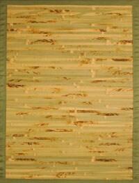 Handmade Variegated Rayon from Bamboo Rug (8' x 10')