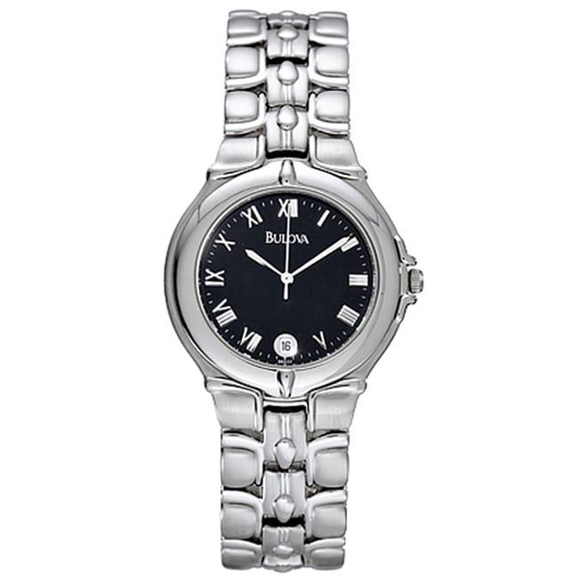 Bulova Men's Stainless Steel Quartz Watch