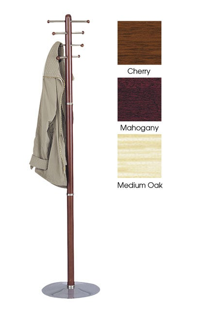 Safco Wooden Coat Rack