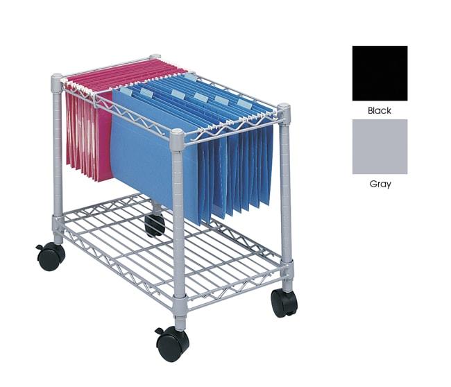 Safco Wire Mobile File Cart