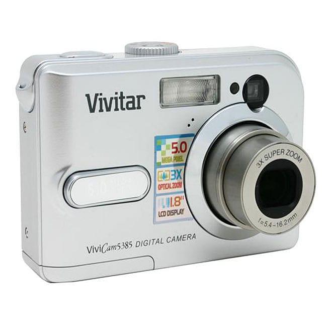 Shop vivitar vivicam 5385 5-megapixel digital camera (refurb.