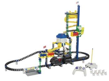 Rokenbok Monorail Metropolis Play Set