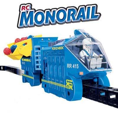 Rokenbok Radio-control Monorail Play Set