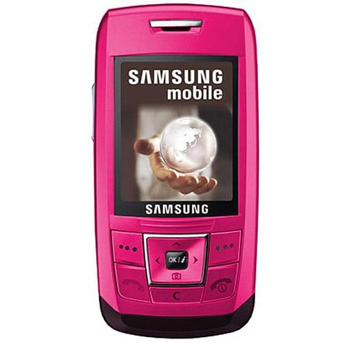 Samsung E250 Pink Unlocked Cell Phone