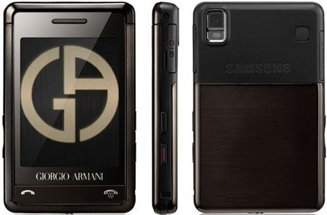 085a8765fab7 Shop Samsung Giorgio Armani P520 Unlocked Cell Phone - Free Shipping Today  - Overstock - 3047250