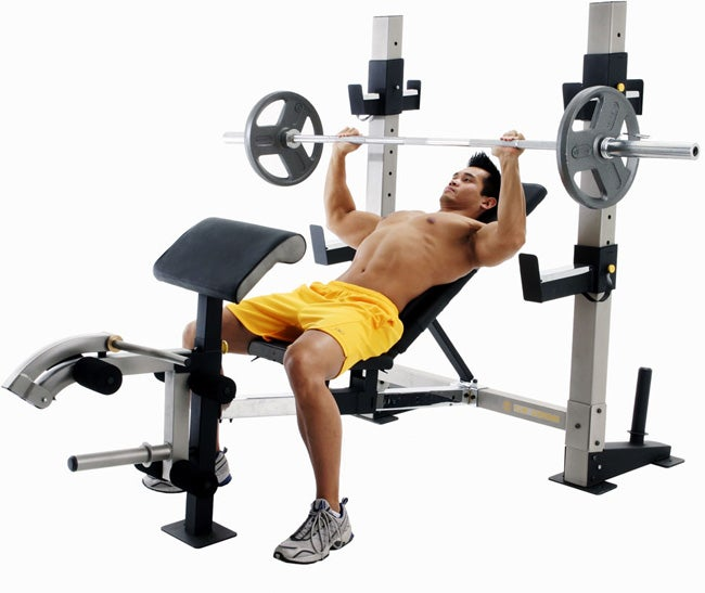 Gold S Gym Gb 2000 Weight Bench Free Shipping Today