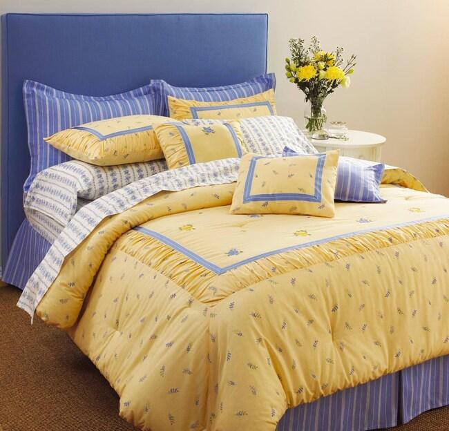 Laura Ashley Butter Cup 7-piece Comforter Set