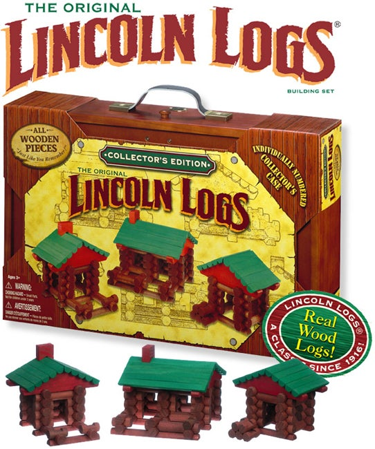 Lincoln Logs Collector's Edition Set