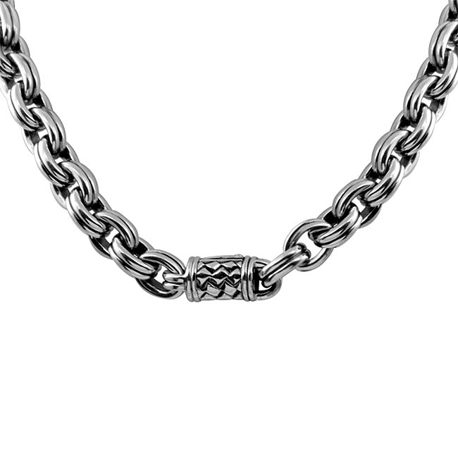 08c9bd4fdcaef4 Shop Scott Kay Jewelry Sterling Silver Men's Necklace - Free ...