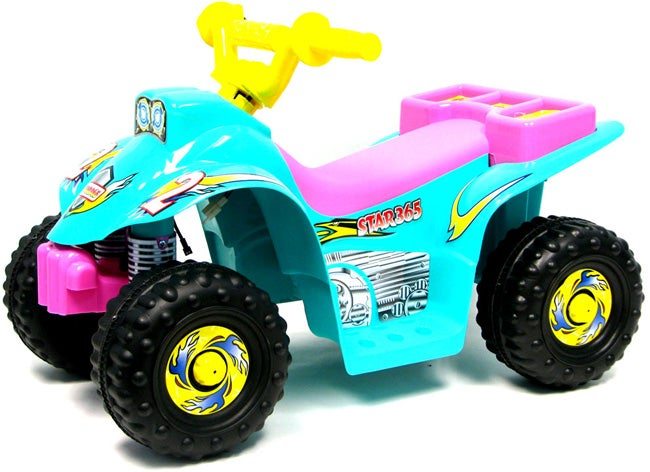 ATV Battery Operated 4 Wheeler Ride-On Toy