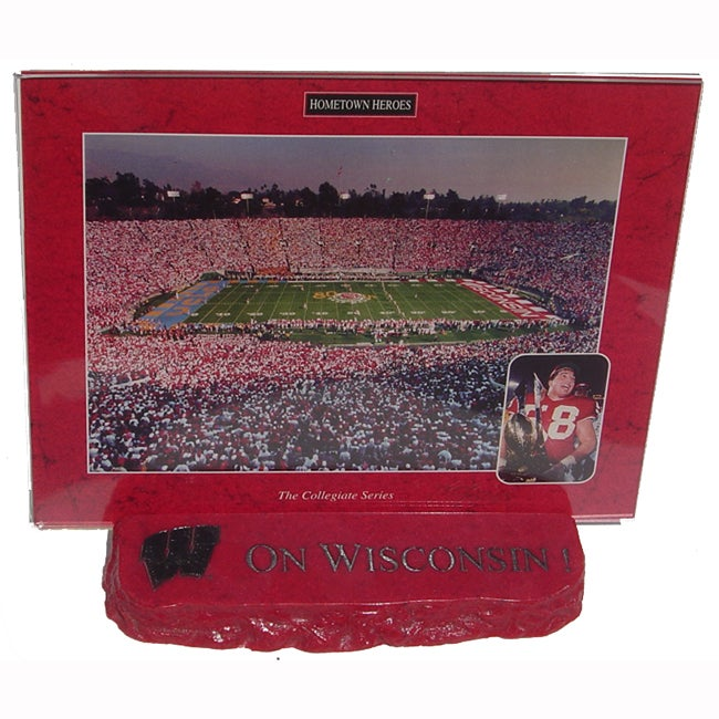 On Wisconsin Audio Desktop Collectible