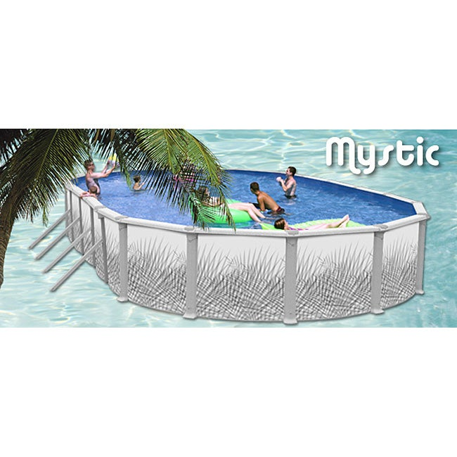 Mystic Above Ground Swimming Pool 33 X 18 Free