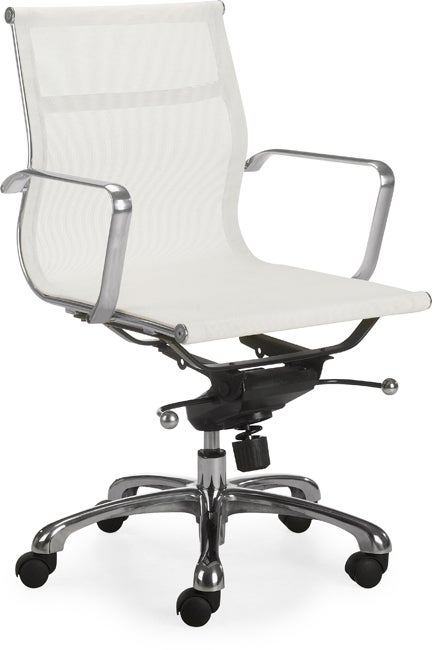 Chicago White Office Chair