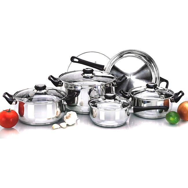 Stainless Steel 10-piece Durable Cookware Set
