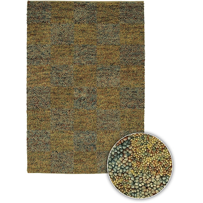 Hand-knotted Contemporary Majesta Rug (5' x 8') - multi