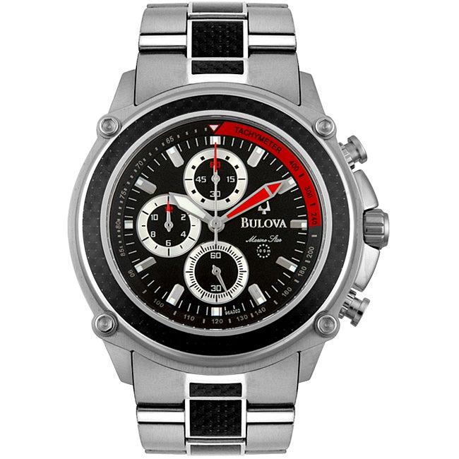 Bulova Mens Marine Star Chronograph Watch