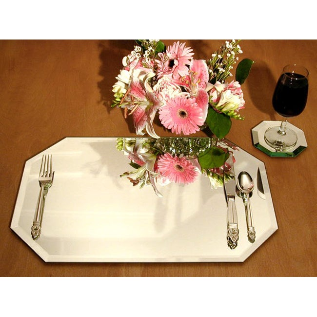 Mirrored Placemats (Set of 4)