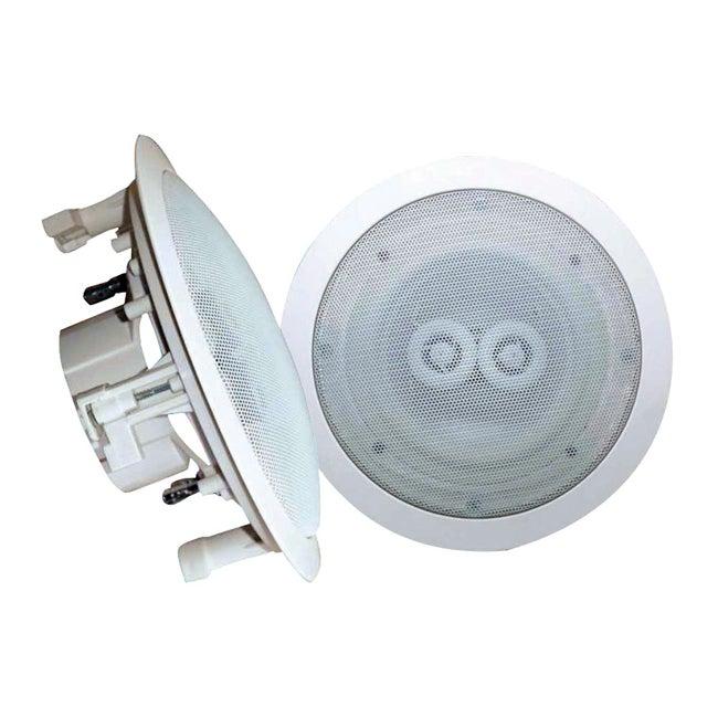 Pyle In Ceiling Dual Channel Weatherproof Speaker Free