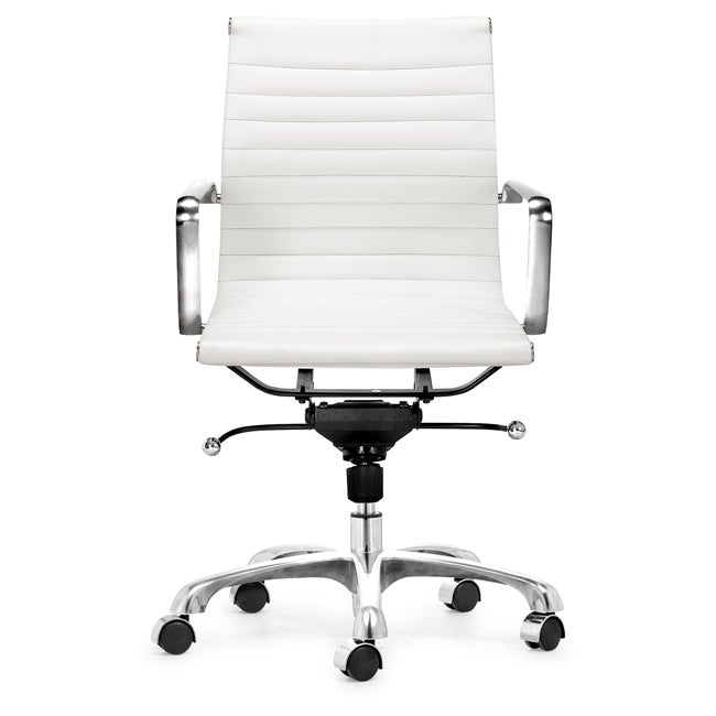 Office Star Dorado Office Chair With Fixed Padded Arms And Chrome