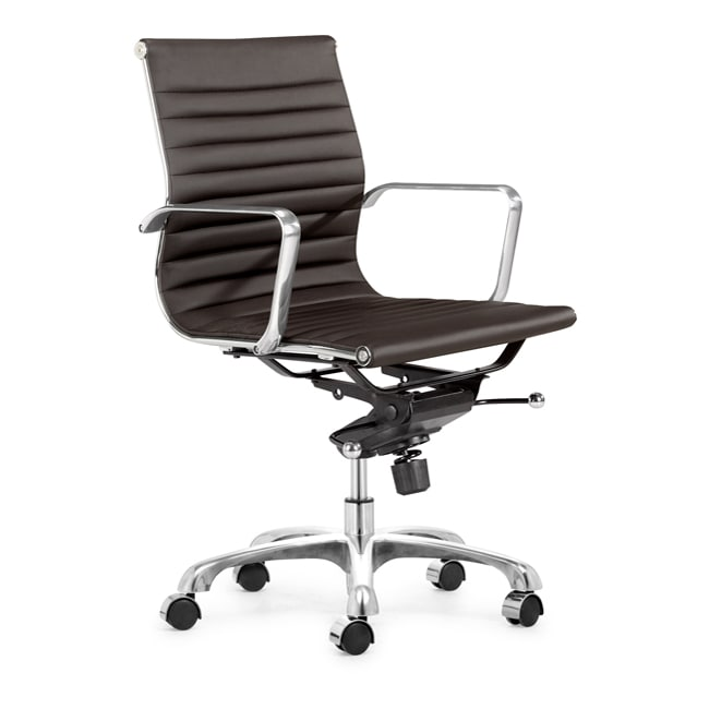 Manhattan Espresso Office Chair Free Shipping Today