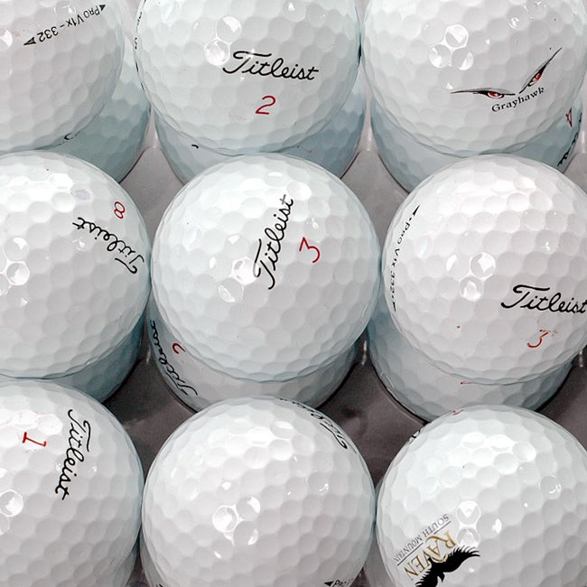 Titleist Pro V1x AAA Recycled Golf Balls (Box of 36) (Refurbished) - Thumbnail 0
