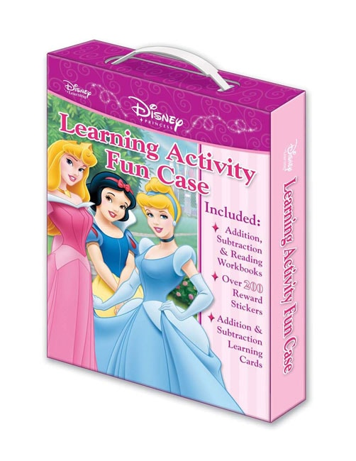 Disney Princess Learning Activity Fun Case