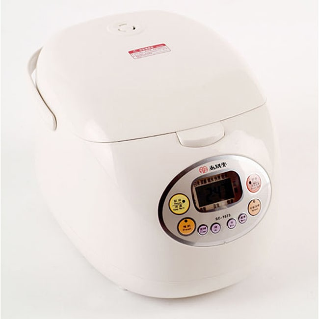 Stylish Microcomputerized 10-cup Rice Cooker