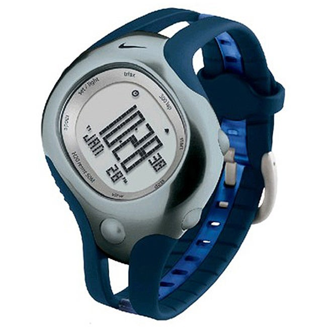 Nike Men S Triax Speed 300 Blue Sport Watch Free
