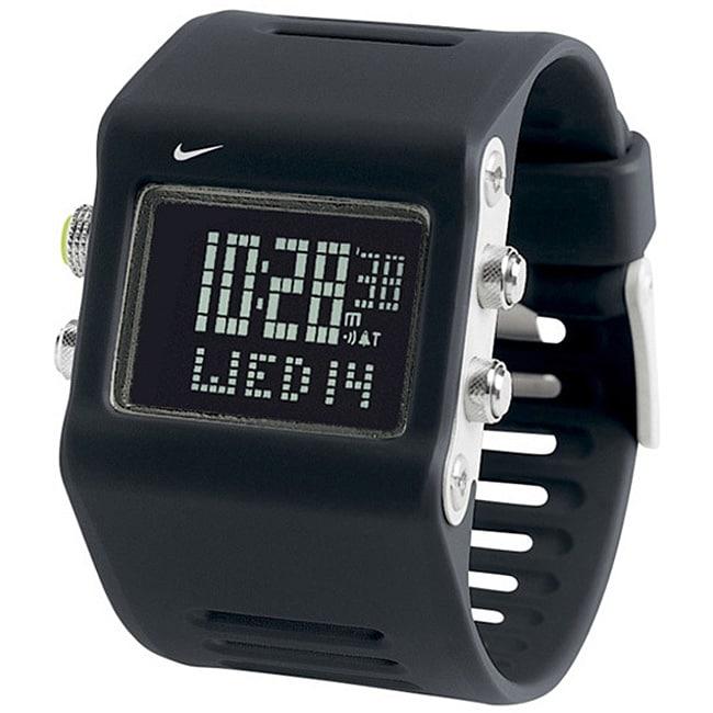 Nike Mens Anvil Super Sport Quartz Digital Watch Free