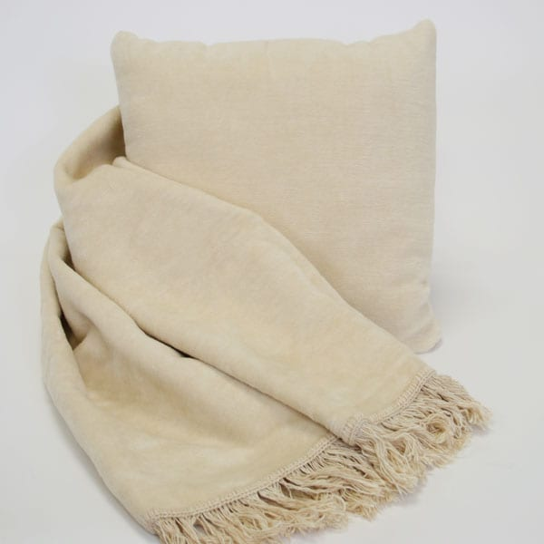Cozy Throw and Pillow Combo Accent Piece - Thumbnail 0