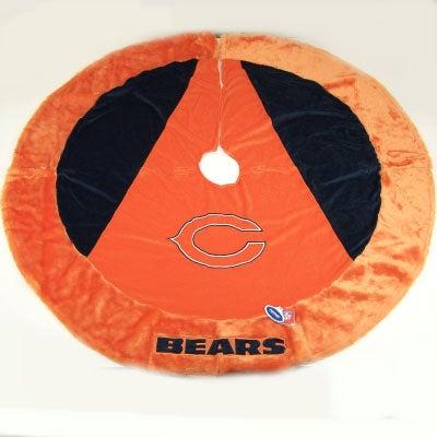 Chicago Bears Official NFL Christmas Tree Skirt
