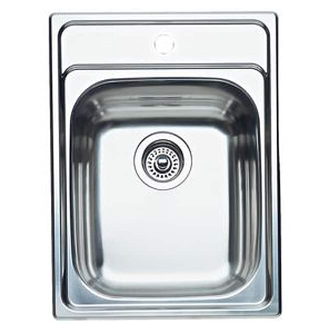 Blanco Stainless Steel Drop-in Kitchen/ Bar Sink - Free Shipping Today ...