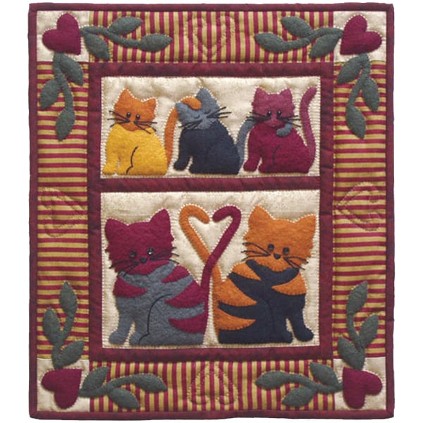 Cat Tails Wall Hanging Quilt Kit Free Shipping On Orders