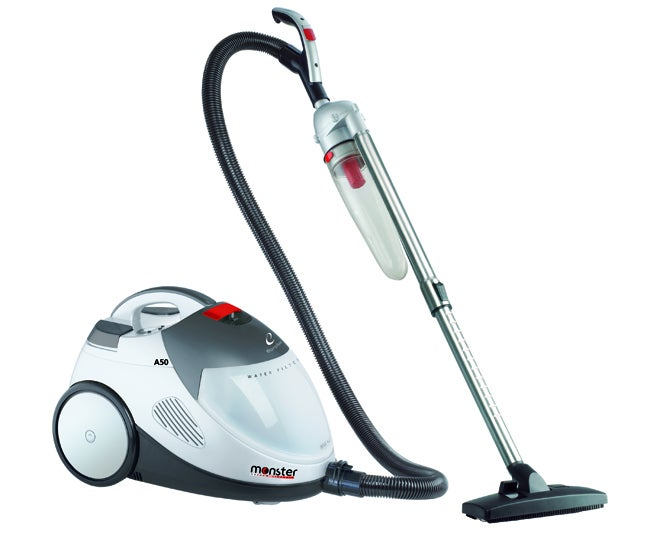 Shop Euroflex Monster Water Filtration Canister Vacuum