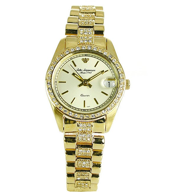 Jules Jurgensen Women S Elegant Gold Watch Free Shipping