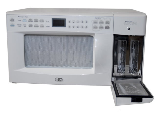 Lg White Microwave Oven Toaster Combo Refurb Free