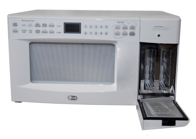 LG White Microwave Oven/ Toaster Combo (Refurb) - Free Shipping Today ...