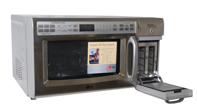 Lg Stainless Steel 1200 Watt Microwave Toaster Refurbished