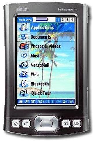 Palm Tungsten T5 Palm Pilot Pdas Refurbished Free