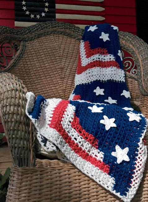 Americana Decorative Throw