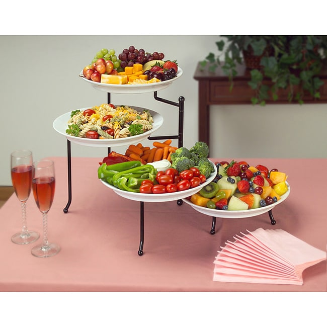 Adjustable 4 tier Buffet Server Free Shipping Today