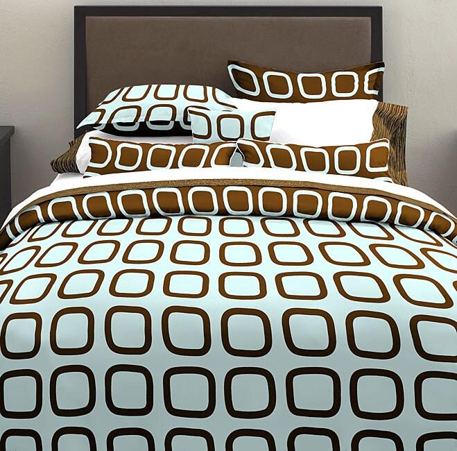 Block Party Aqua Pillow Set