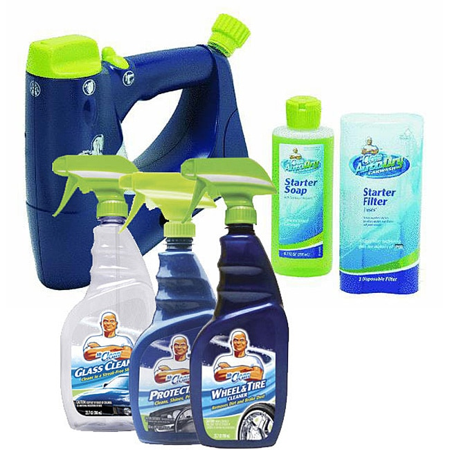Mr. Clean Car Wash/ Auto Dry System Package
