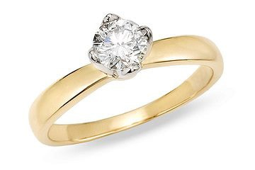Miadora 14k Gold 1ct TDW Diamond Solitaire Engagement Ring (G-H, SI2-I1)